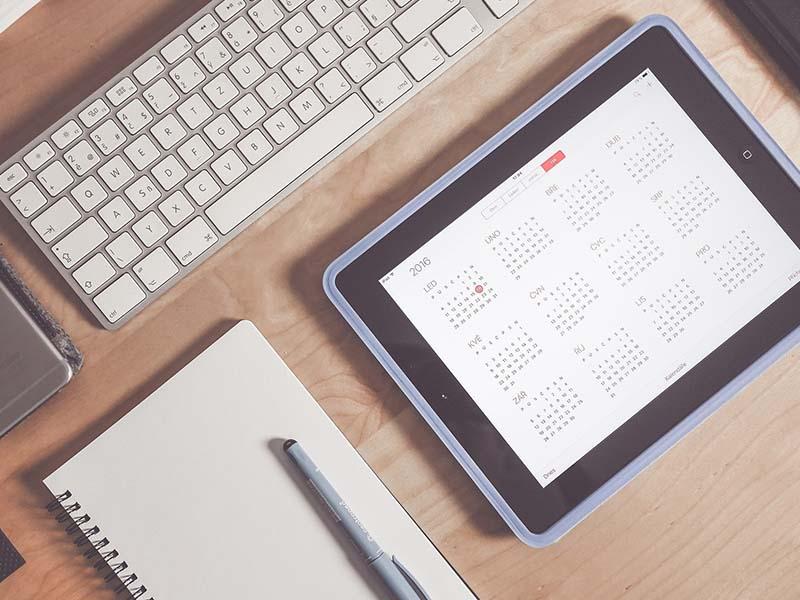 Como realizar un calendario editorial para un blog